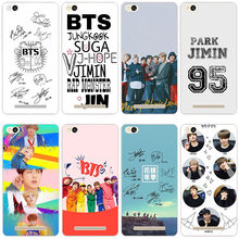 331GV Bangtan BTS Boys Hard Transparent Cover Case for Xiaomi Redmi 3 3S 3Pro 4 4a 4pro Note 3 4 4x 4pro Mi5 mi a1(China)