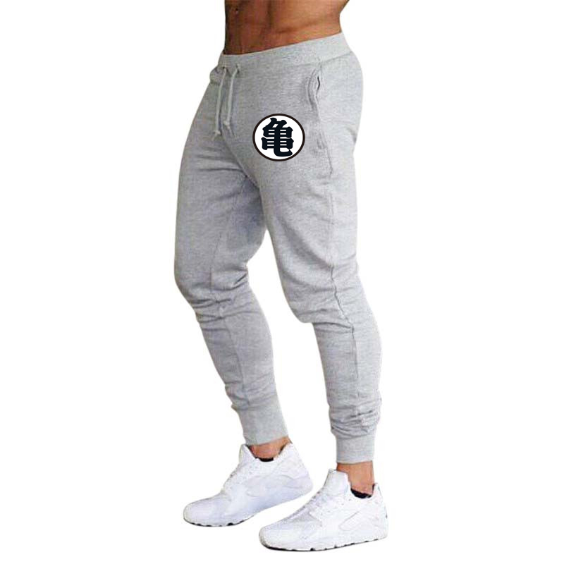 New Cotton Men full sportswear Pants Casual Elastic Z Print Mens Fitness Workout Pants skinny Sweatpants Trousers Jogger Pants(China)