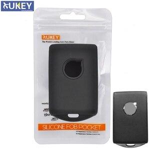 Image 1 - Funda de silicona para mando a distancia, para Volvo Xc90, Xc70, S60, S80, S90, C30, V70, V90, 2017, 2018