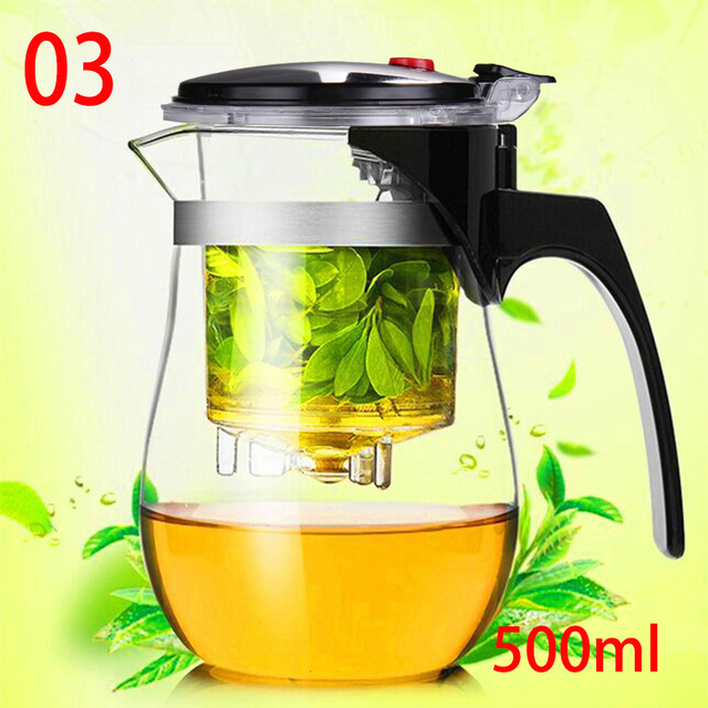 Heat Resistant Glass Teapot Coffee Glass