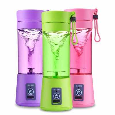 Mini USB Charging Blender Mixer Portable Juicer