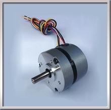 Envío gratis 57BLS005 Circular fuselaje y Hall retroalimentación 36 V DC 4000 rpm 57 mm 0.6A 23 W sin escobillas 3 del eje del Motor DC 8 mm