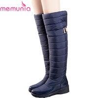 6a8719e90f5d26 Russia Winter Boots Keep Warm Knee High Boots Round Toe Down Fur Ladies  Fashion Women Snow. US $50.00 US $26.00. MEMUNIA Rusland winter laarzen  vrouwen ...