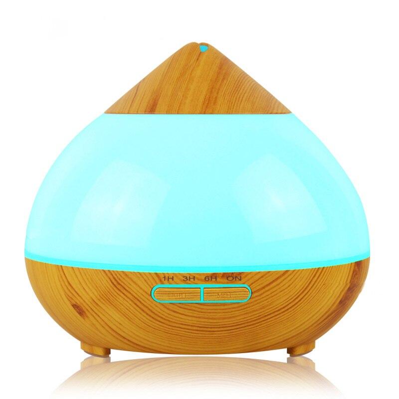 300 ml humidificateur d'air diffuseur d'huile essentielle arôme lampe aromathérapie électrique arôme diffuseur brumisateur pour la maison-bois