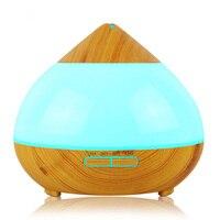 KAIPUTE 300 ml Luftbefeuchter Ätherisches Öl Diffusor Aroma Lampe Aromatherapie Elektrische Aroma Diffuser Nebel-hersteller für Home-Holz