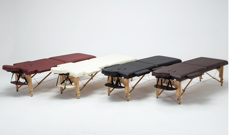 Profesional Portable Spa Massage Tables dilipat dengan Carring Bag - Perabot - Foto 2