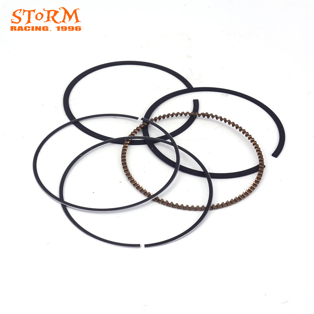 Motorcycle Piston Ring Kit For NC250 NC250CC NC 250 T6 Xmotos 250cc 4 Valves KAYO J5 Engine Parts Bike Off Road oil filter clearance for zs177mm zongshen engine nc250 kayo t6 k6 bse j5 rx3 zs250gy 3 4 valves parts motocross page 5