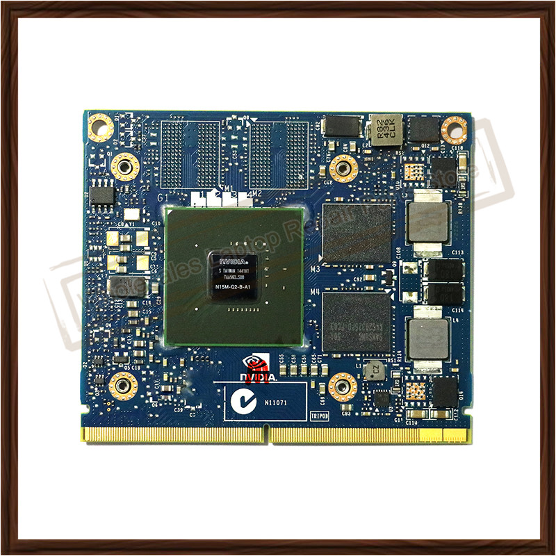 N15M-Q2-B-A1 Video Display Card For HP ZBOOK 15 17 K610M 1GB Graphic Card 100% Genuine Tested
