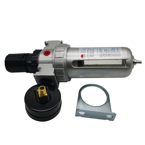 SFR-200 1/4 SFR-300 3/8 SFR-400 1/2 Air Compressor Moisture Water Oil Lubricator Trap Copper Filter Regulator Air Regulator