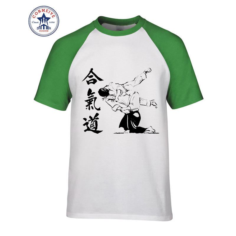 HTB1NSktgEl7MKJjSZFDq6yOEpXa3 - t shirt aikido 2017 Teenage Youth Funny Cotton for men