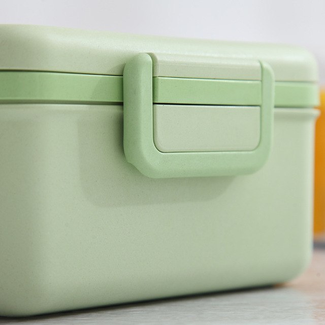 Useful Multifunction Leakproof Eco-Friendly Bamboo Lunch Box