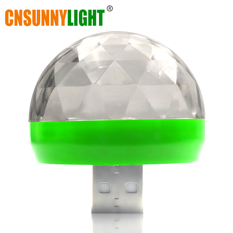 Green with USB