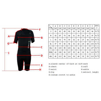 Layatone Wetsuit Shorty Men 3mm Neoprene Diving Suit Surfing Snorkeling Scuba Diving Suit - One Piece Swimsuit Women Wet Suits