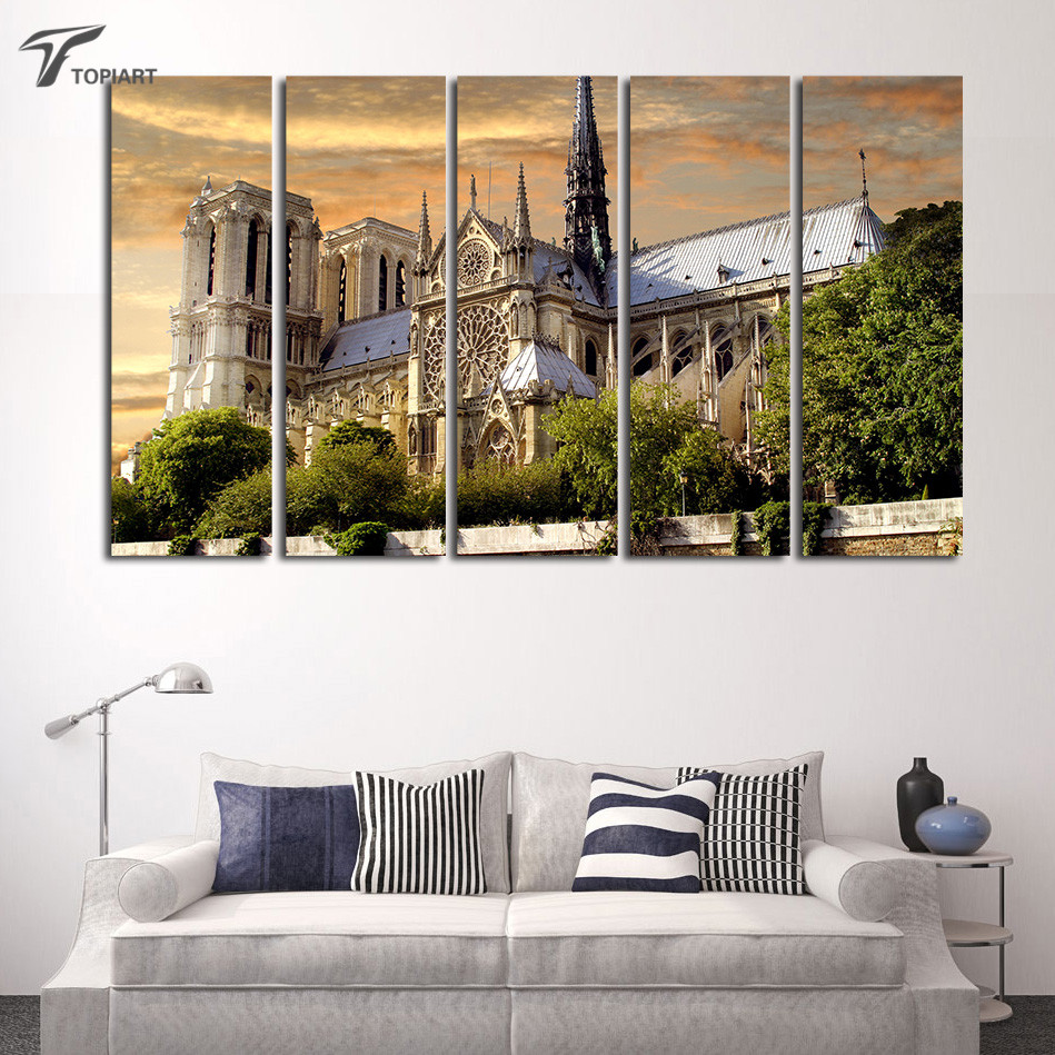 Notre Dame Wall Art popular notre dame canvas-buy cheap notre dame canvas lots from