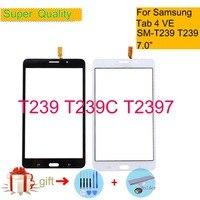Für Samsung Galaxy Tab 4 7 0 VE SM T239 T239 T239C T2397 Tab4 Touchscreen Digitizer Front Glas Panel Sensor Touchscreen keine lcd Tablett-LCDs und -Paneele Computer und Büro -
