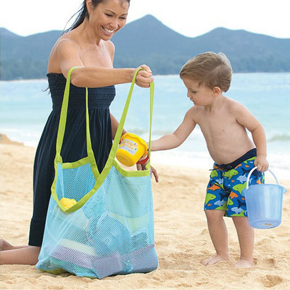 Diaper Bags Bag Appiled Enduring Baby Diapering Backpack Kids Indoor Toys Maternity Towel Baby Bag Children Sand  Beach Mesh