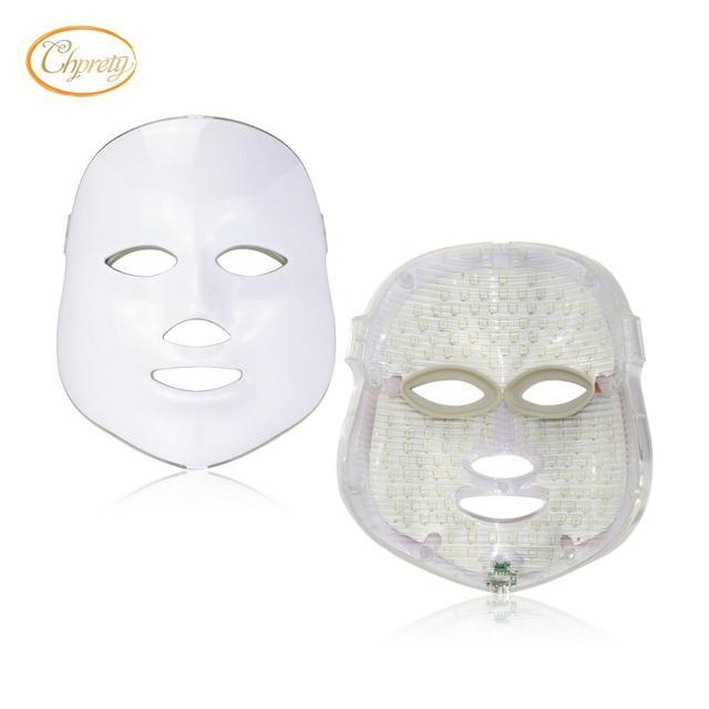 Anti Aging Led Photon Facial Mask Light Photodynamic Skin Rejuvenation whitening mask  Wrinkle  Moisturizing Nutrition Lead in