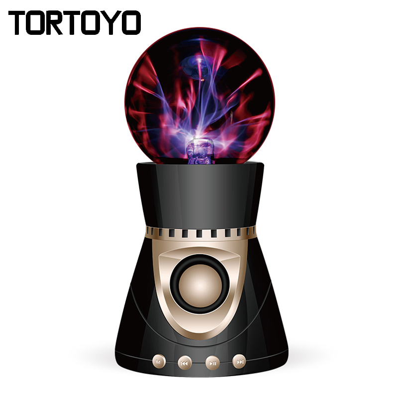 KP8000 Stylish Magic Ball Bluetooth Wireless Speaker 3D HD Stereo Bass Surround Subwoofer 18650mah Loudspeaker for Smart Phone