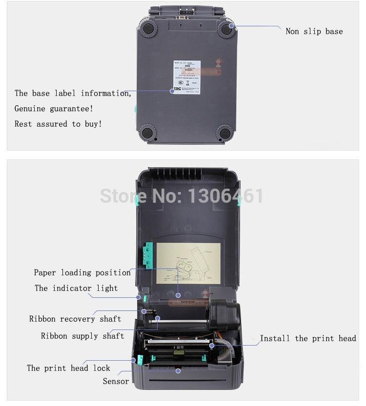 1pcs New Original TTP244PRP thermal label font b printer b font