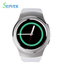 100% Original N° 1 G3 IPS pantalla Bluetooth Reloj Inteligente MTK2502c SIM la tarjeta de escuchar reloj monitor de ritmo cardíaco para apple iphone ios y android