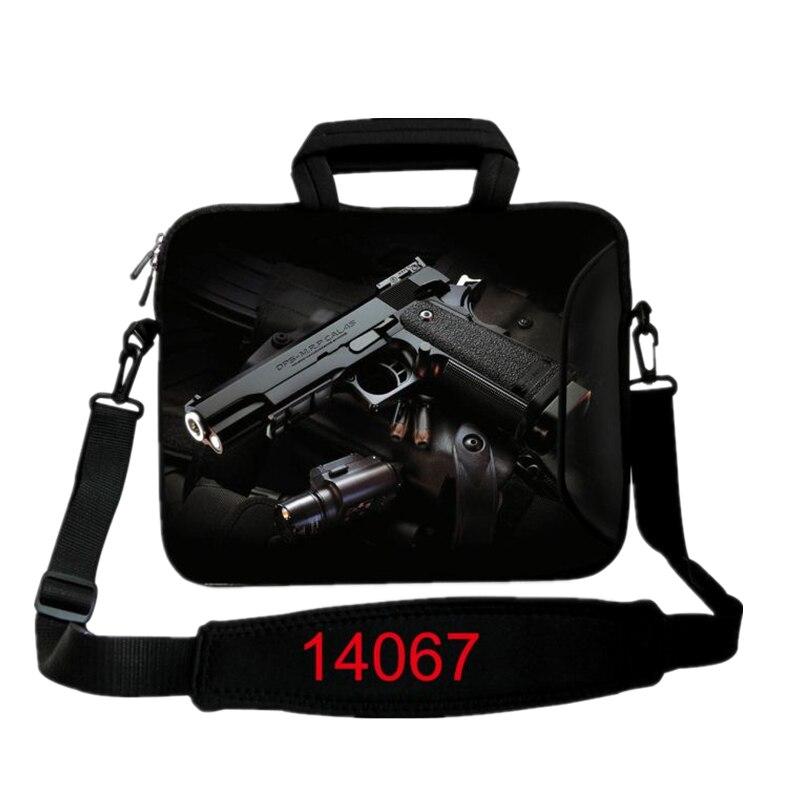139ee7feafb73 Nowy Pistolet Druku Torba Na Komputer przenośny Smart Cover Do ipada  MacBook Rękawem Case 10 12 13 14 15.6 17.3 cal Laptopa Torby i Walizki