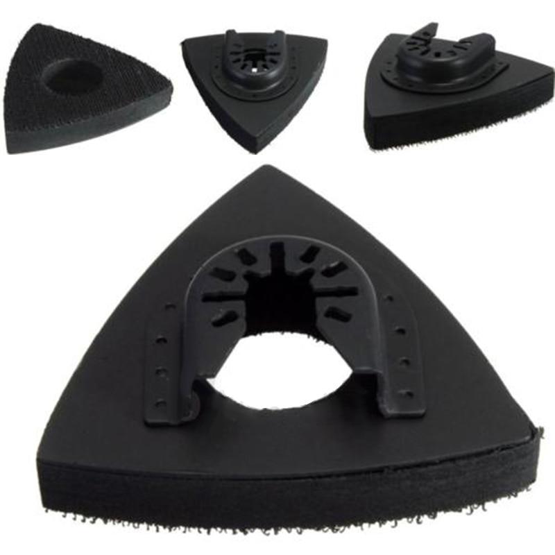 1*Scrub Pad Black 8cm Long Sanding Polishing Oscillating Multi Tool Saw Blades Scrub Pad Stainless Steel+EVA