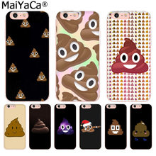 MaiYaCa Funny stool smile facial expression Unique Design Newest phone Case for iPhone 8 7 6 6S Plus X 10 5 5S SE XS XR XS MAX(China)
