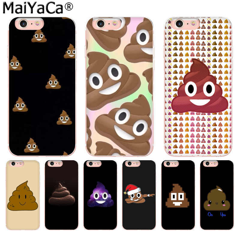 MaiYaCa Funny stool smile facial expression Unique Design phone Case for iphone 11 pro 8 7 66S Plus X 10 5S SE XS XR XS MAX