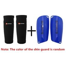 1 пара детских Защитных Носков для футбола для взрослых с накладками на голени, поддерживающие гетры, спортивные защитные носочки для голени