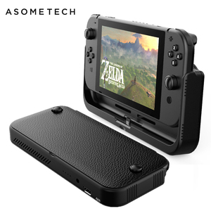 Image 1 - 10000mAh Battery Charger Case For Nintend Switch Console External Battery For Nintendo Switch Power Bank Leather Case For NS