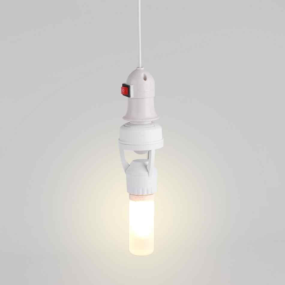 1 Pcs AC110-240V Infrared Sensor LED Socket E27 LED Lamp Bulb Holder Light Switch Socket Adjustable Infrared Motion Sensor
