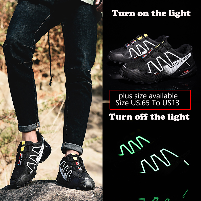 Men's Casual Shoes Responsible Plus Size Us6.5 To Us13 Casual Shoes Men Light Luminous Shoes Led Light Shoes Working Sport Mens Fashion Breathable Shoes Suitable For Men And Women Of All Ages In All Seasons