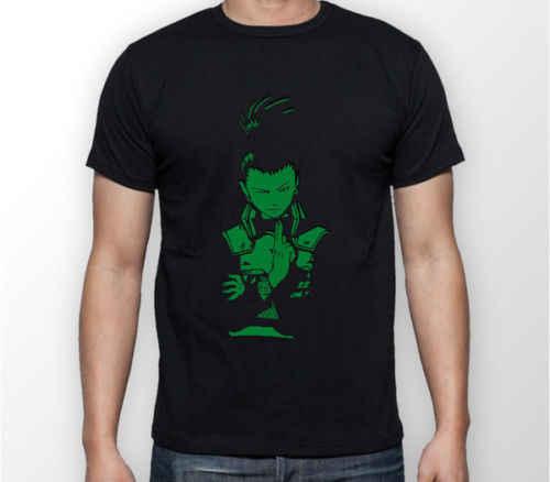 Shikamaru Nara Naruto Anime Manga Unisex Tshirt koszulka Tee wszystkie rozmiary Cartoon t shirt mężczyźni Unisex nowa moda tshirt