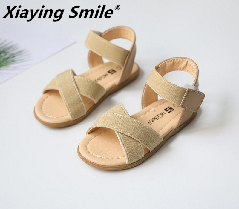 Belbello Boy Girl Sandals Children Shoes Kid Flats Gladiator New Summer Fashion Casual Hook And Loop Comfortable Rubber Shoes