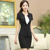 The New Summer 2017 Ms OL Business Attire Women S Short Sleeve Bigger Sizes Dress Suit