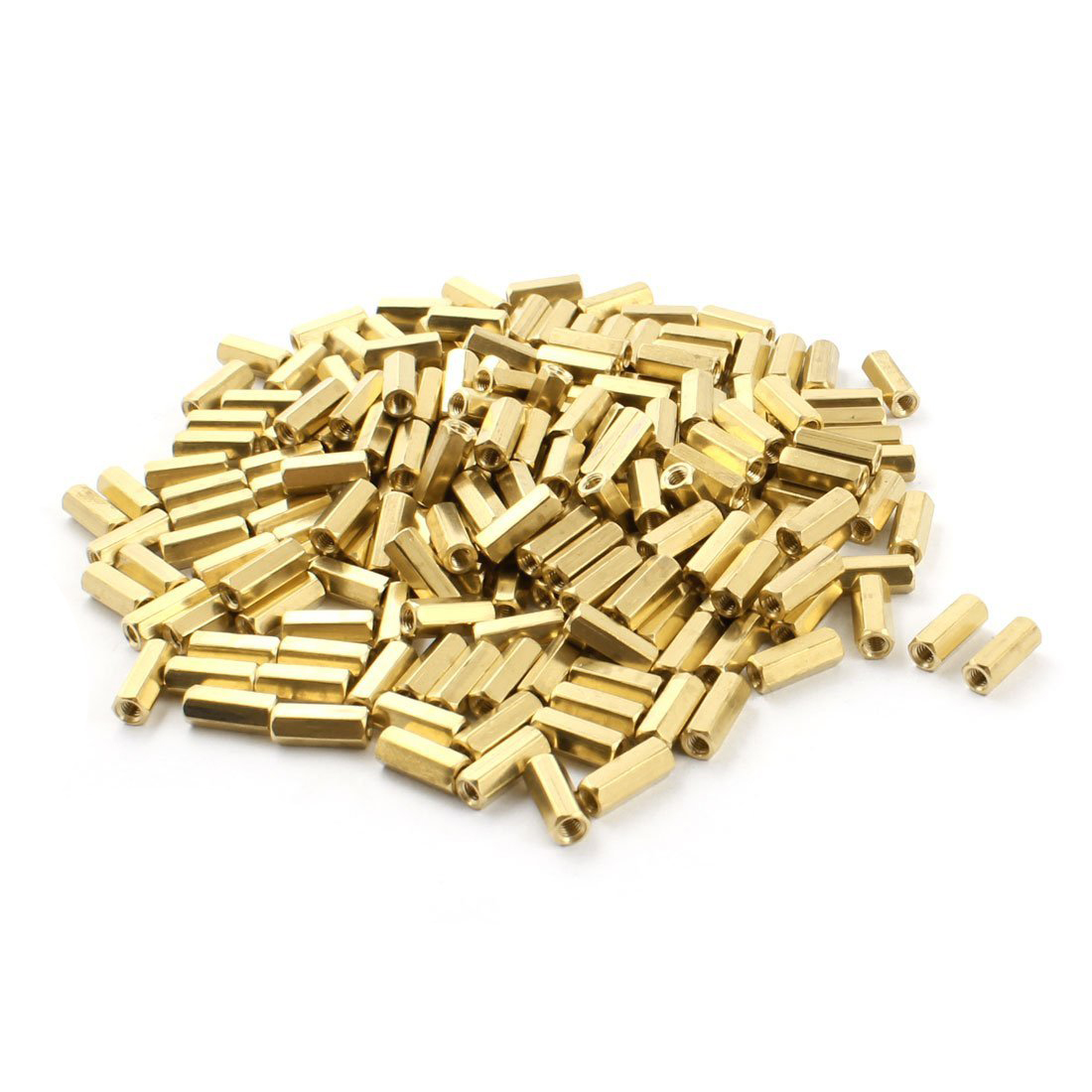 200 x M3 Female Thread Brass Pillar PCB Standoff Hexagonal Spacer 12mm коврик для ванной iddis curved lines 50x80 см 402a580i12 page 2