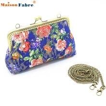Hohe Qualität Frauen Dame Retro Vintage Schmetterling 7 Inch Brieftasche Haspe Geldbörse Handtasche