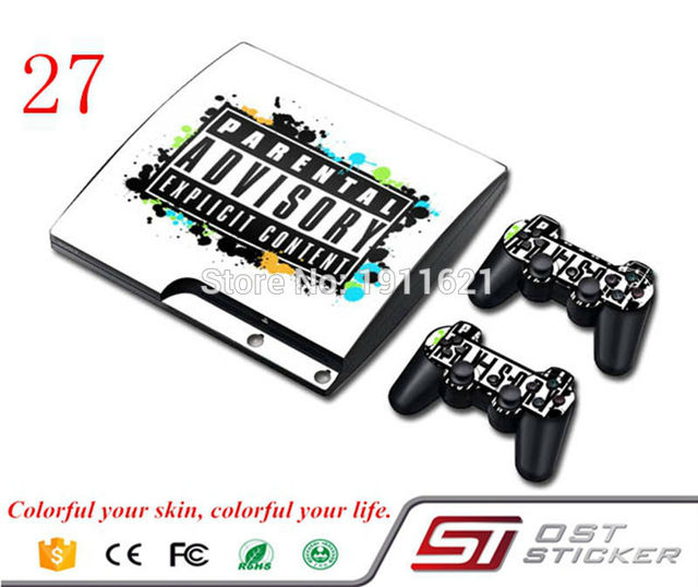 Oststicker vinyl sticker maker carbon sticker design your own stickers for playstation 3 decal