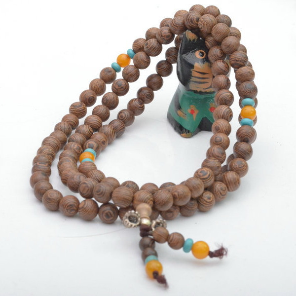 Wood Bracelets Wholesale Wood Beads 6mm Stretch Wooden