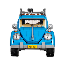 2017 HOT 10566 21003 Series City Car Volkswagen Beetle model Building Blocks Compatible Blue Technic Car Toy