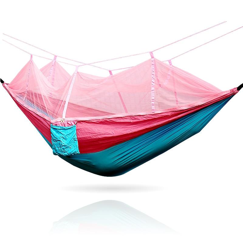 Blue Pink Single Hammock mosquito net in Hammocks from Furniture