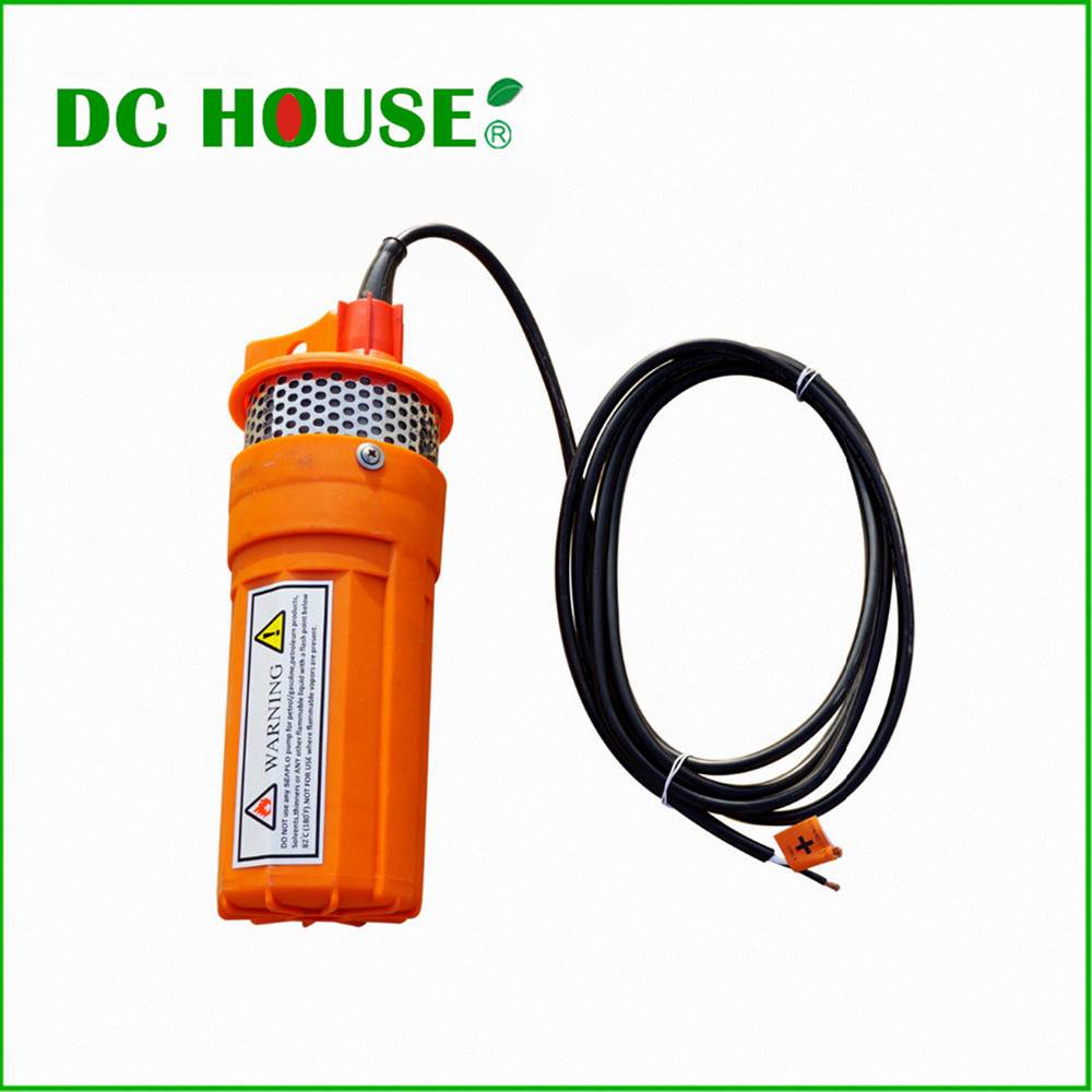 Eco-Worthy  DC 24V Submersible Deep Well Water Pump For Solar Power Pool Fountain Water free shipping new 220v ylj 500 500l h 8w submersible water pump aquarium fountain fish tank power saving copper wire