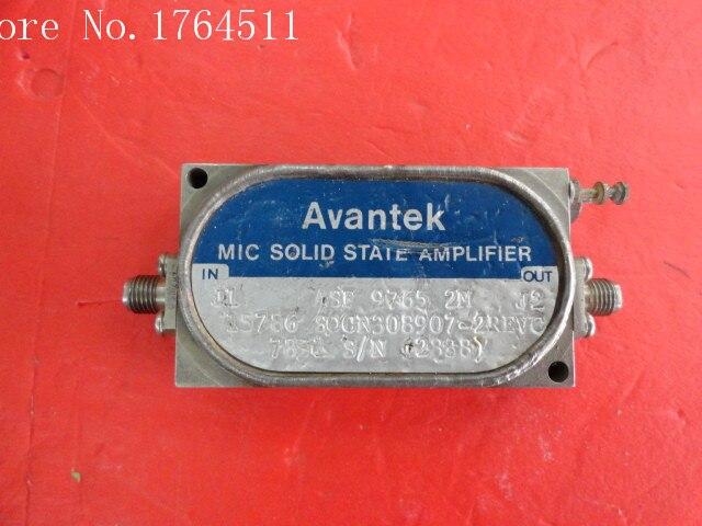 [BELLA] The Supply Of AVANTEK ASF-97652M Low Noise Amplifier SMA