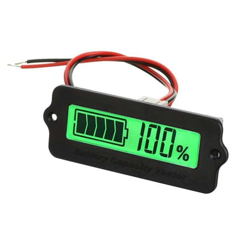 Externe 1.7 LCD Batterie Au Lithium/Plomb-acide Batterie Indicateur Affichage Panneau Vert Lumière Capacité Résiduelle Module D'affichage