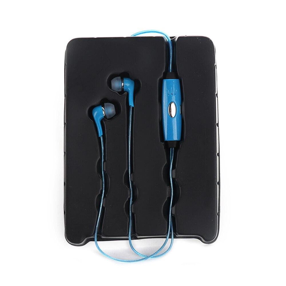 LED Flash Earphone Streamer Cool Headset In-ear Noise Cancelling In-Ear Earphone