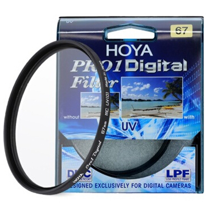 49 52 55 58 62 67 72 77 82mm HOYA PRO1 Digital MC UV Camera Lens Filter Als Kenko B + W