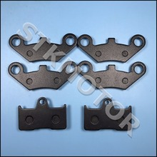 3 zestawów 6 sztuk przednie i tylne klocki hamulcowe dla CFMOTO CF CF500 500CC CF600 600CC X5 X6 X8 U5 UTV Shineary 4x4