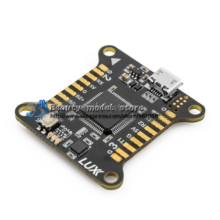 New LUX Racer Flight Controller for FPV QAV-R 180 220 260 QAV-X 214 frame qav250/ZMR250/qav210/Nighthawk 250 Robocat270 drone with camera rc plane qav 250 carbon frame f3 flight controller emax rs2205 2300kv motor fiber mini quadcopter