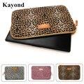 Kayond marca leopard laptop sleeve case 10,11, 12,13, 14,15, 15.6 pulgadas, cuaderno, para ipad tablet, para macbook, envío libre sc31