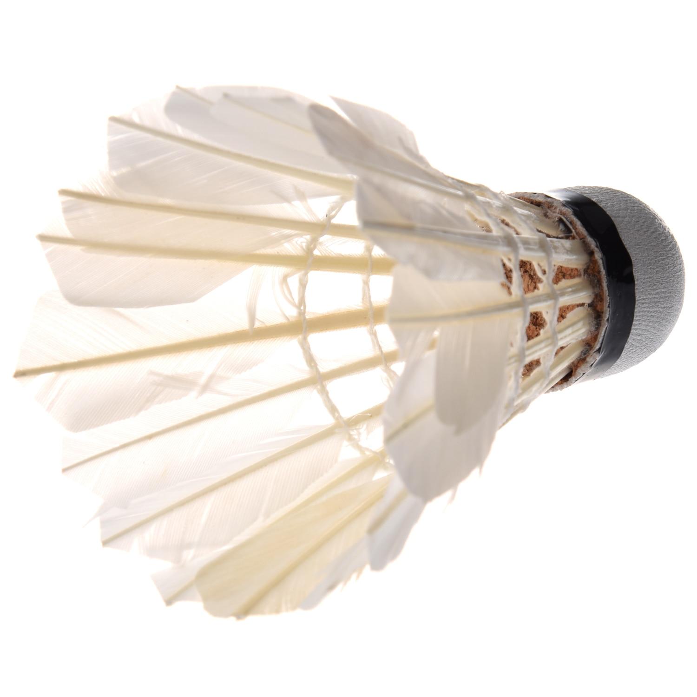1-6 шт., воланы для бадминтона с белыми перьями смотреть на Алиэкспресс Иркутск в рублях